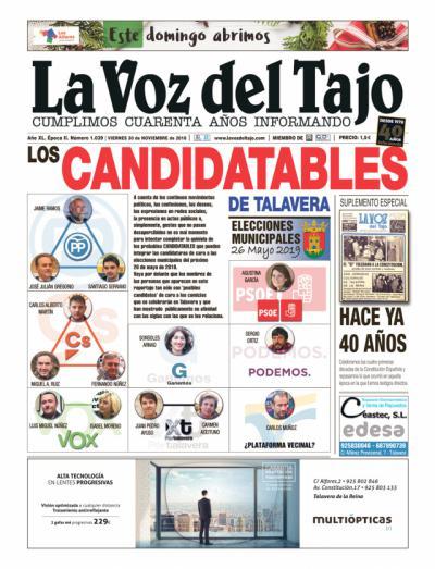 PORTADA | 'Los Candidatables de Talavera'