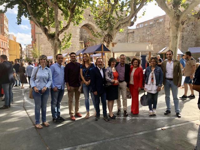 Miembros del PP local de Talavera, solidarios ante el ELA