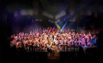 Los alumnos de ADAE ALMA llenan con 'Noveo & Julieta' y 'Un Príncipe Gitano' el Teatro Palenque
