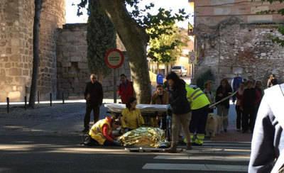 Otro atropello en Talavera de la Reina, esta vez en calle Carnicerías