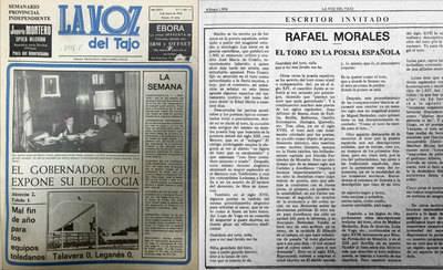 En el año 1978, echaba a andar... La Voz del Tajo -40 AÑOS-
