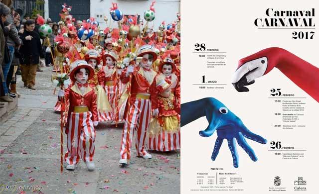 Calera llena de humor y color sus calles con el Carnaval