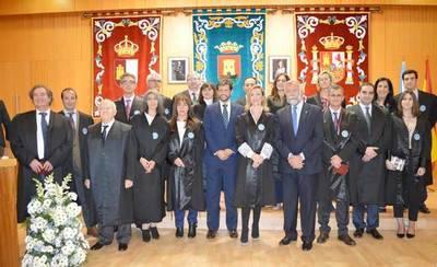 Jura de los nuevos letrados de Talavera, y homenaje a los 25 y 50 años de carrera
