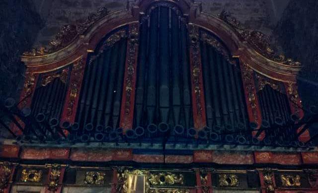 Restaurado el órgano litúrgico de la iglesia de Santiago el Nuevo