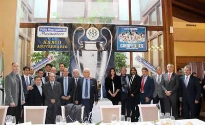 XXXIII Aniversario de la peña 'Real Madrid Mazacotero'