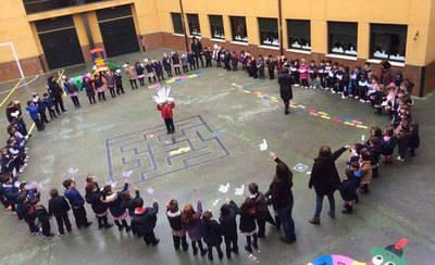 El colegio Juan Ramón Jiménez celebra el Día de La Paz