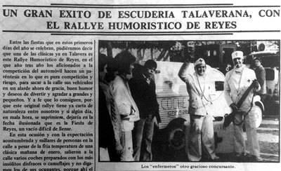 Hace 40 años...El Rallye Humorístico, Maurice Messegué ¿Lo recuerdan?
