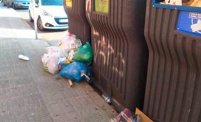 La suciedad en Talavera sigue siendo un problema a solucionar (IMÁGENES)