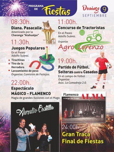 Hoy finalizan las fiestas patronales de Talavera la Nueva