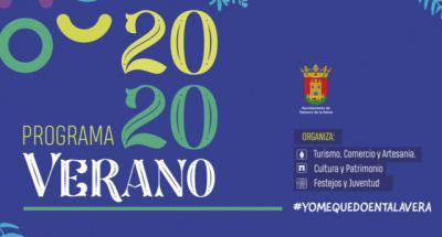 PROGRAMACIÓN | Todos los actos del 'Verano 2020' de Talavera