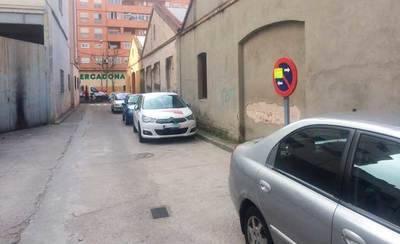 Mañana no se podrá aparcar en la C/Antonio de Nebrija