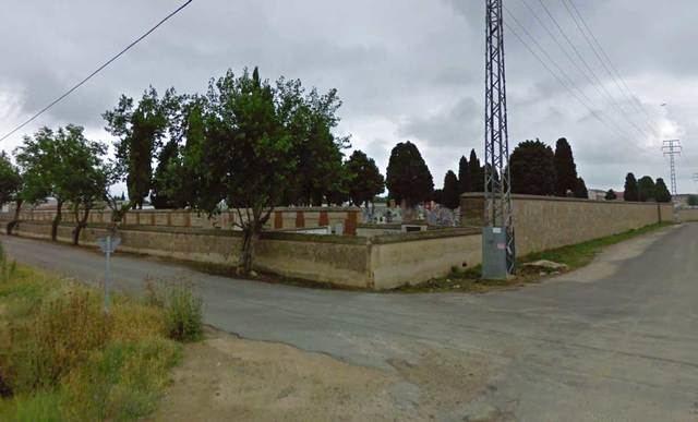 Parte trasera del cementerio municipal de Talavera de la Reina