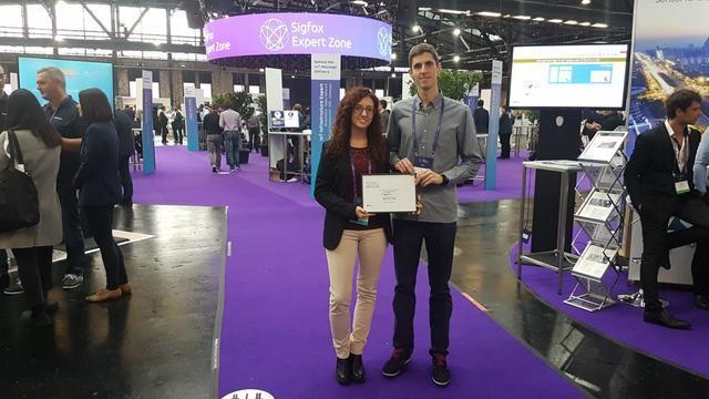 Dos jóvenes investigadores de la UCLM logran el primer premio del concurso 'Sigfox University Challenge'