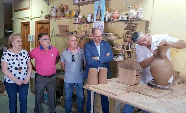 La Junta pone en valor la cerámica de Puente del Arzobispo y Talavera
