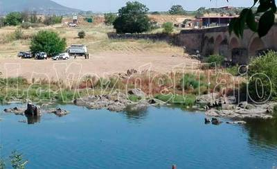 La Guardia Civil busca un cadáver en aguas del río Tajo en Puente del Arzobispo