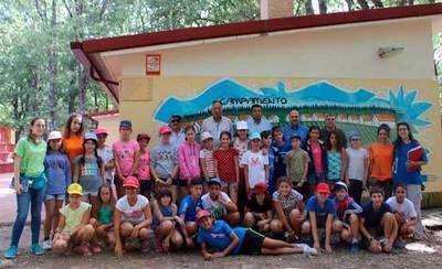 Más de 220 jóvenes participan en los campamentos 'Verano Joven 2017'