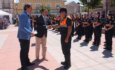 El Casar de Escalona entrega las medallas de Protección Civil