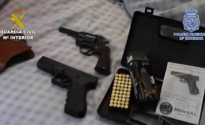 Detenidos en Segurilla miembros de una banda que trafica con hachís