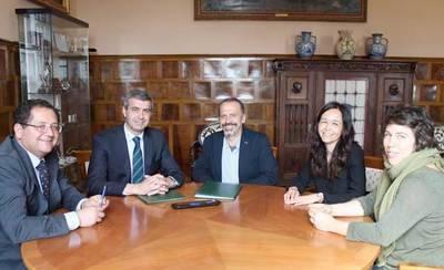 La Diputación renueva el convenio con la ONG 'Movimiento por la Paz'