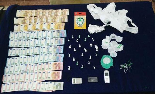 Desarticulado un punto de venta de cocaína en Toledo capital que se salda con 12 detenciones