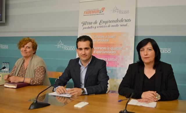 'Tierras de Emprendedoras' llegará a 12 municipios de la provincia de Toledo