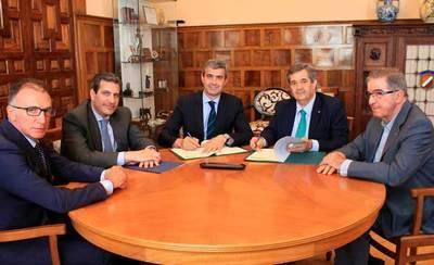 Diputación y FEDETO colaboran en la lonja agropecuaria de la provincia