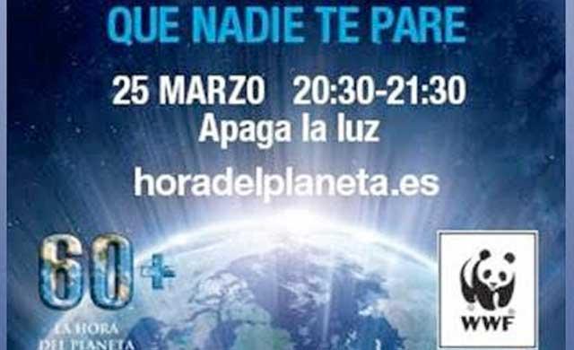 La Diputación se une a la celebración de la 'Hora del Planeta'
