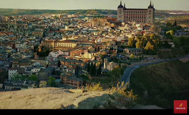 Toledo es el escenario de un anuncio de Iberia para Japón y China (VÍDEO)