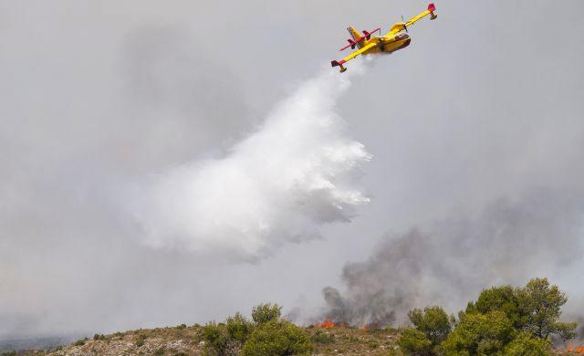 Extinguido el incendio en Prado del Gordo de Casarrubios del Monte