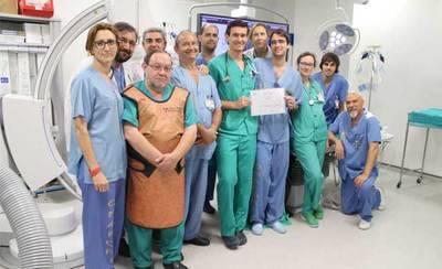 Los radiólogos del Hospital de Toledo premiados en el congreso nacional