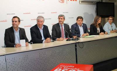 La Ejecutiva del PSOE de Toledo apoya a Page frente a Podemos
