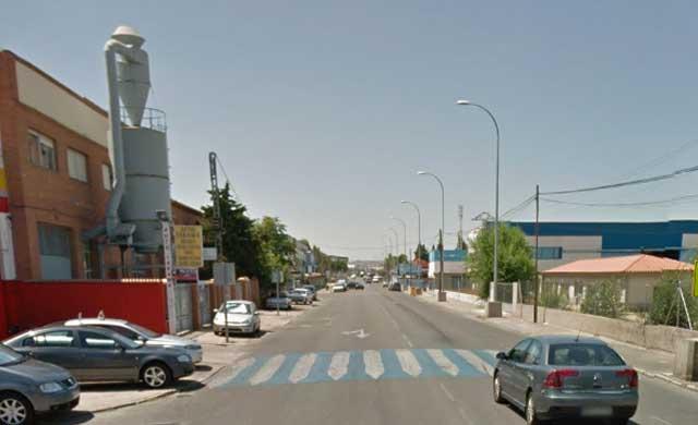 Calle Jarama en el Polígono industrial /Google