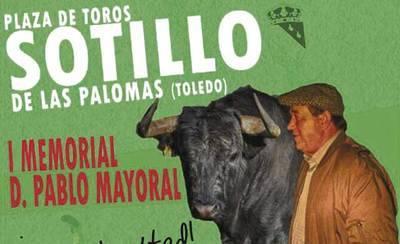 Este sábado enSotillo de las Palomas el mundo del toro rinde homenaje a Don Pablo Mayoral