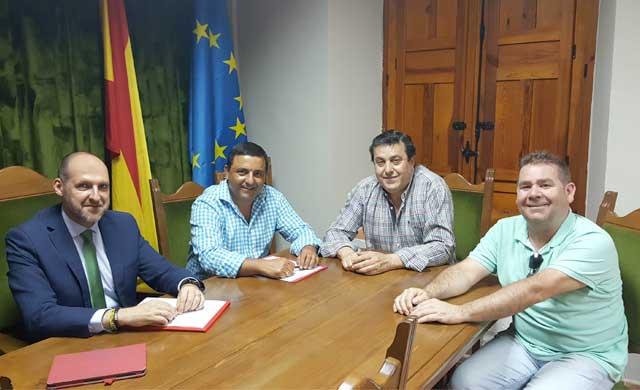 Buscan soluciones para el transporte en Mejorada, Montesclaros y Segurilla