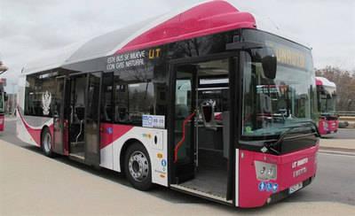 Los nuevos autobuses de Toledo son más