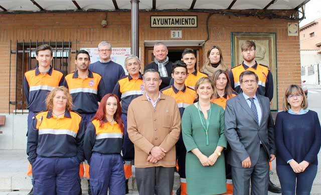 Diputación dobló las ayudas a las agrupaciones de Protección Civil