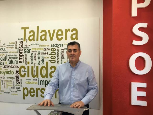 """TALAVERA   Perantón: """"El PP, en la oposición o en el Gobierno, contribuye cero para Talavera"""""""