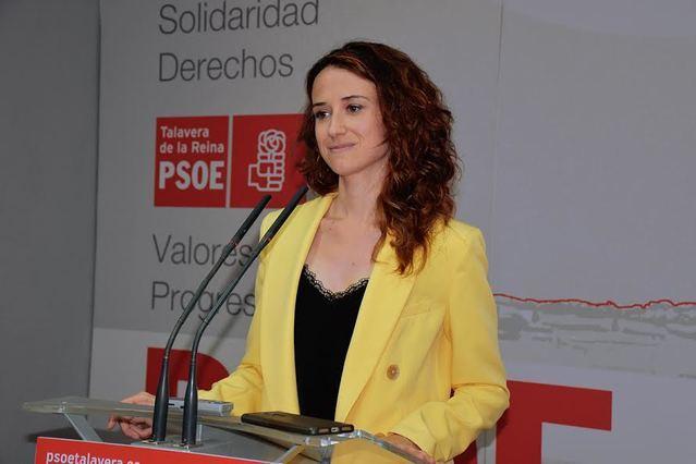 Diana López, diputada regional del PSOE en las Cortes de Castilla-La Mancha