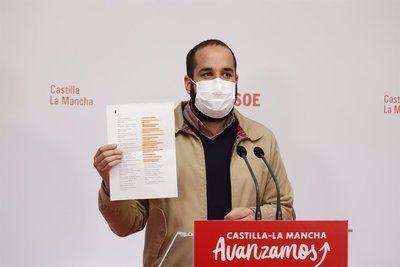 El diputado del PSOE Miguel González en rueda de prensa. - PSOE