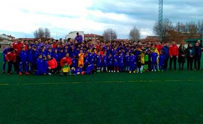 Gutiérrez, en la jornada benéfico-deportiva de fútbol de Patrocinio