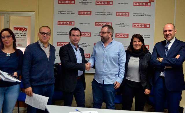 PSOE y CC.OO 'juntos' por las movilizaciones y los presupuestos