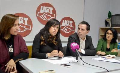 PSOE y UGT piden partidas para el Plan de Empleo en el Presupuesto