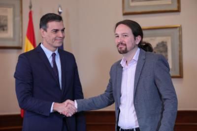Sánchez pide por carta a la militancia que apoye el acuerdo con Unidas Podemos que considera
