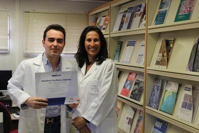 Un médico del Hospital de Toledo, premiado nuevamente por sus trabajos relacionados con la psoriasis