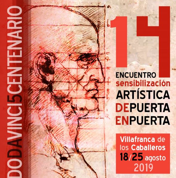 El 14º Encuentro de Sensibilización Artística 'de PUERTA en PUERTA' rinde homenaje a da Vinci