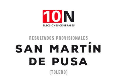 ESPECIAL 10-N   El PSOE gana en San Martín de Pusa en las generales