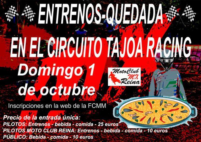 El circuito Tajo-Racing abre este domingo sus puertas para el primer 'Entreno-Quedada'