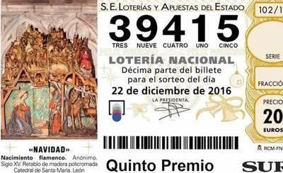 El 39.415, agraciado con el tercer quinto premio, cae en Albacete