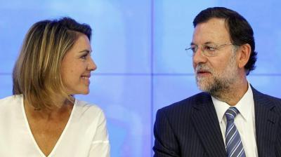 Cospedal y Rajoy