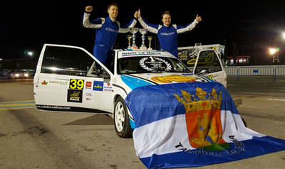 El equipo talaverano 'Team Le Mans', campeones de los rallyes de Madrid y C-LM